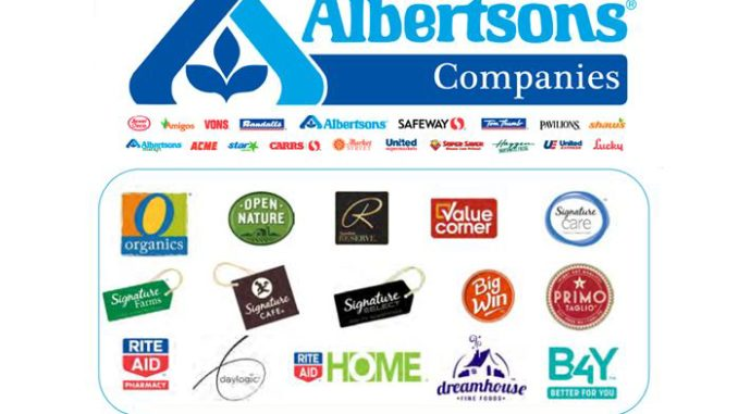 Albertsons Sets Private Label Dollar Share Target at 30% with Rite